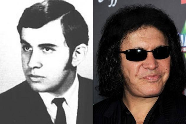 Gene Simmons antes y después