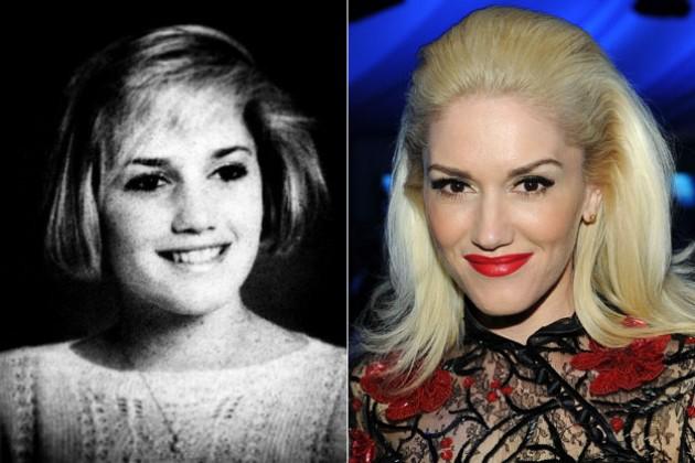 Gwen Stefani de joven
