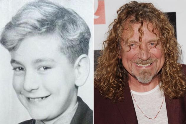 Robert Plant niño