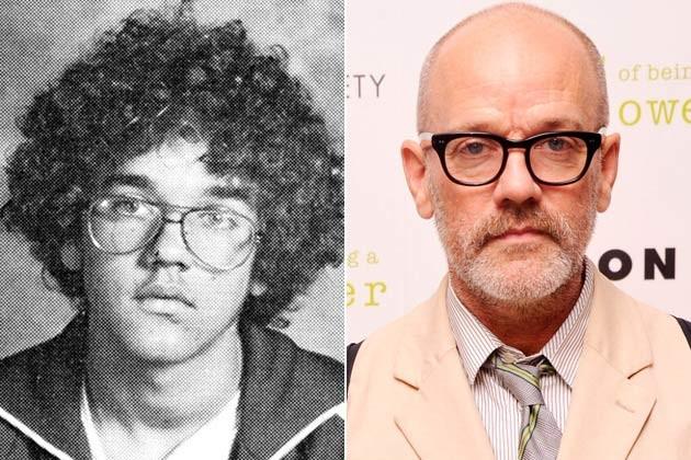 Michael Stipe joven y viejo