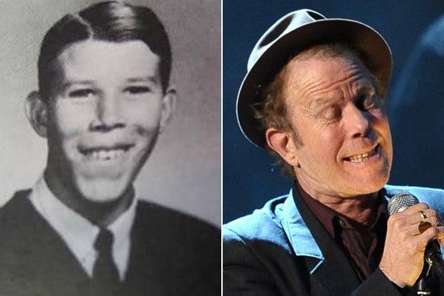 Tom Waits joven y viejo
