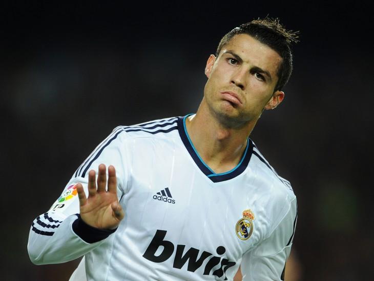 Cristiano Ronaldo celebra gol