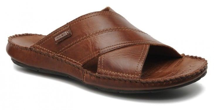 sandalia de piel para hombre