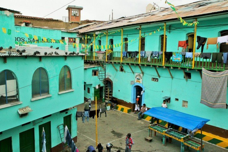 Cárcel de San Pedro en Bolivia