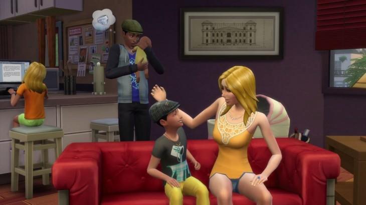 Familia de The Sims