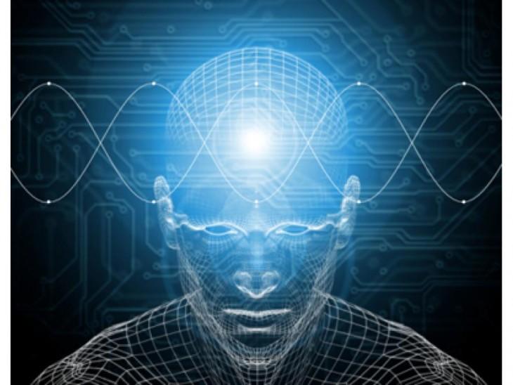 Vista del cerebro de un hombre