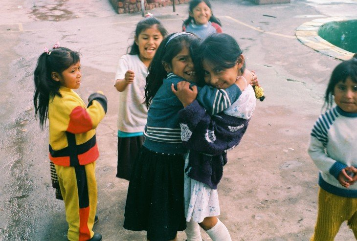 Niños en la cárcel de San Pedro