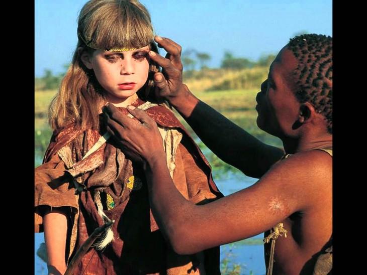Tippi en la tribu