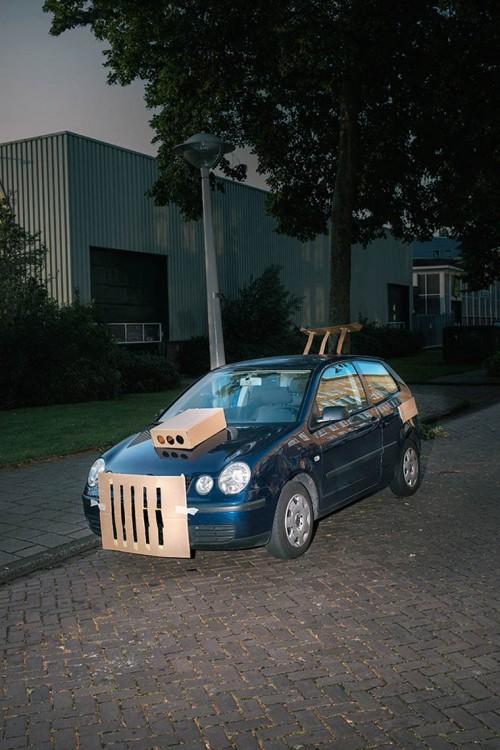 Auto tuneado con cartón