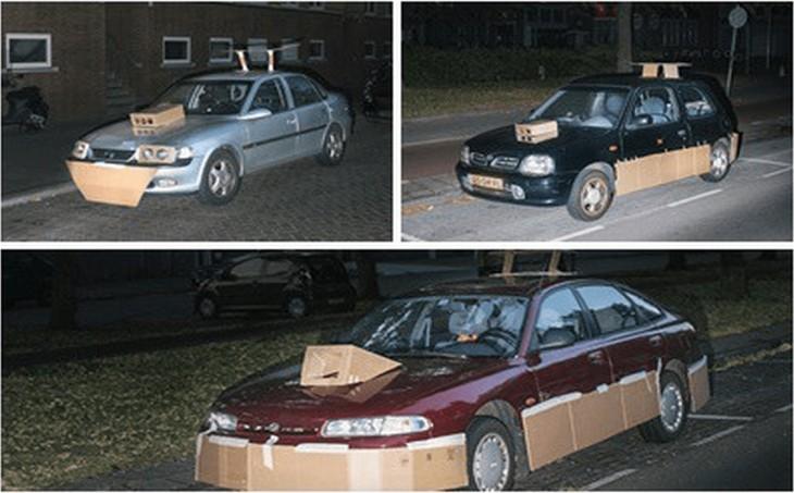 Autos tuneados con cartón