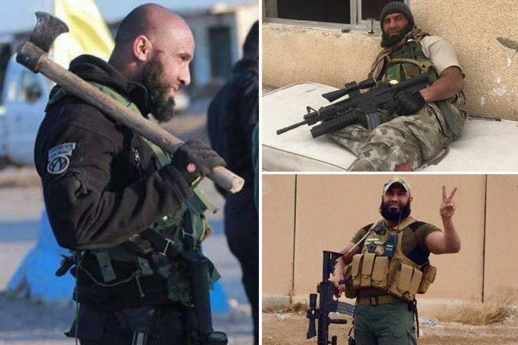 collage de Abu Azrael