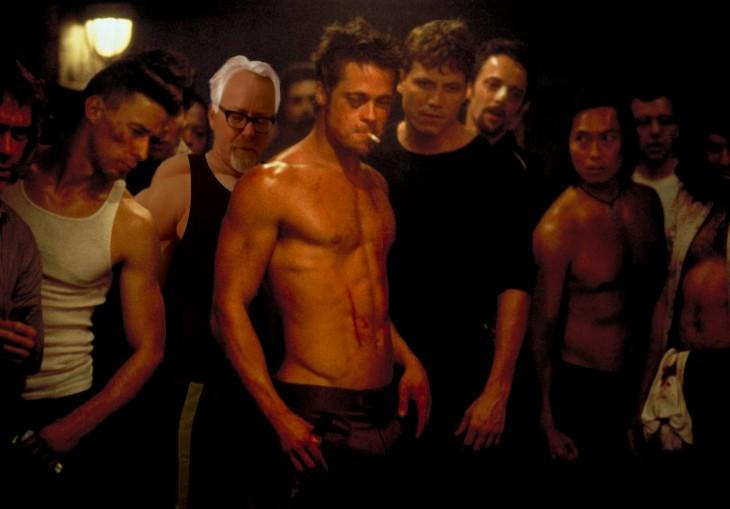 Photoshop de Adam Savage el club de la pelea