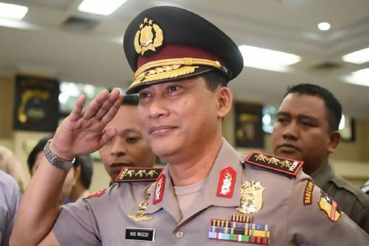 Budi Waseso jefe antidrogas en Indonesia