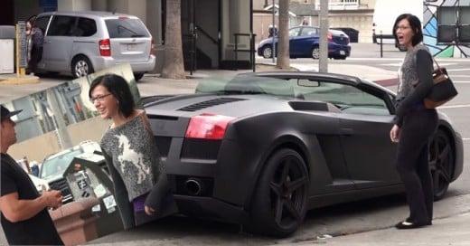 Esta Chica NO le quiso dar su número de Télefono; Hasta que vio su Lamborghini...