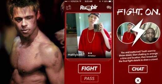 Llega Rumblr, la polémica app para conseguir peleas callejeras con otros usuarios