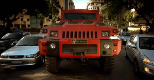 Marauder: El vehículo de uso militar que se vende a civiles