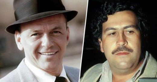 Frank Sinatra fue Socio de Pablo Escobar, dice el hijo del Narcotraficante