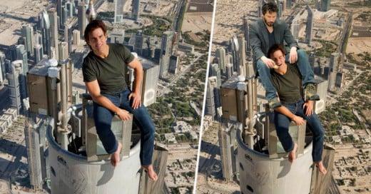 Tom Cruise se sube a la Torre más Alta del Mundo e Internet lo Trollea sin piedad!