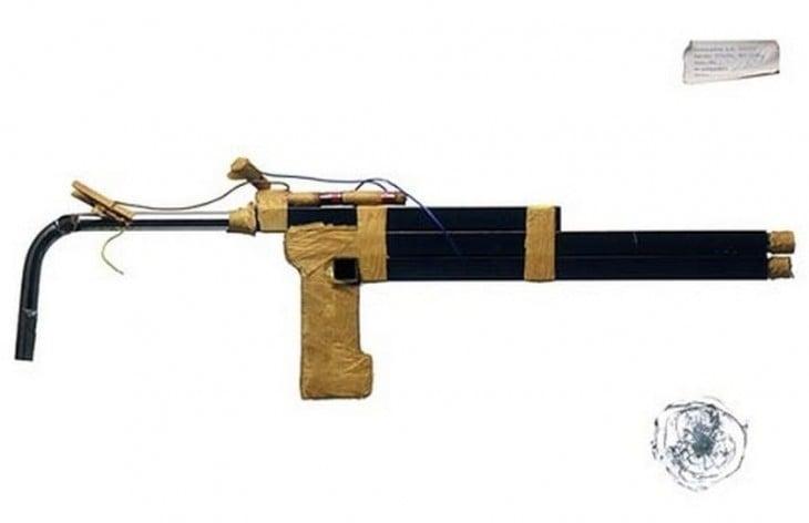Escopeta hecha en la cárcel