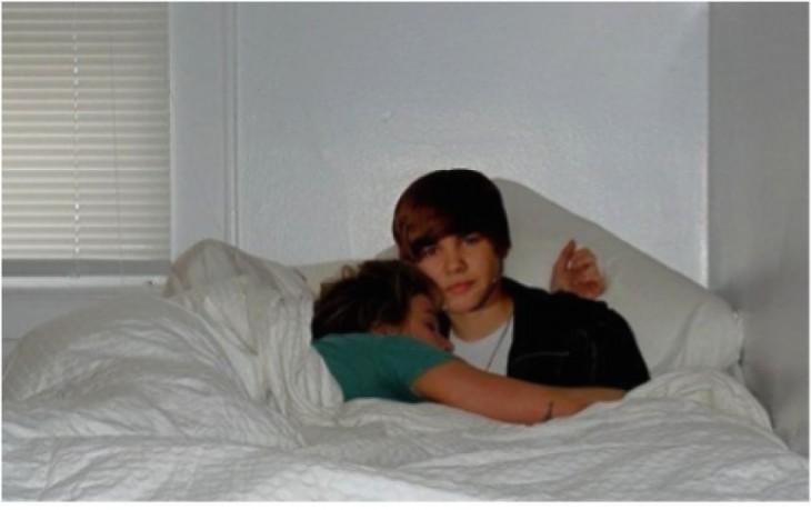 almoada de Justin Bieber