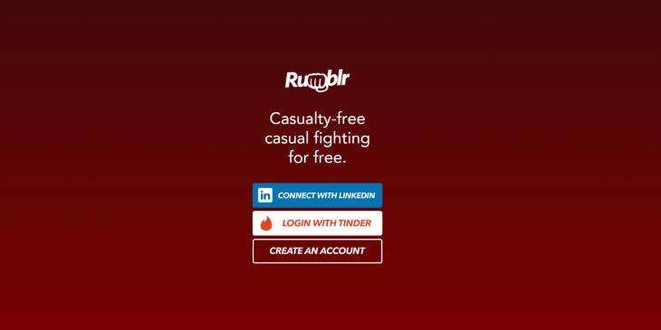 Rumblr, página y aplicación