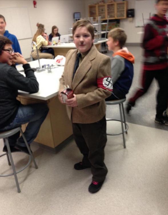 Disfraz de Adolf Hitler