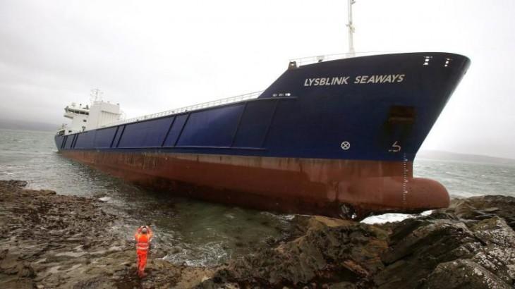 marinero borracho buque de lysblink seaways