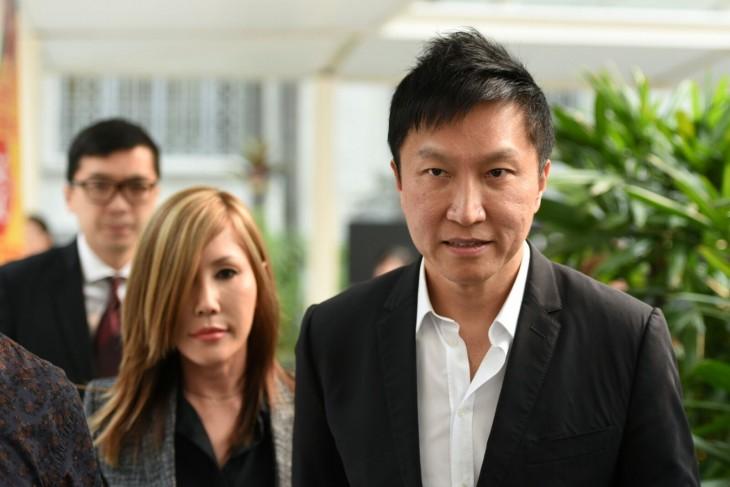 pastor Kong Hee y su esposa Sun Ho