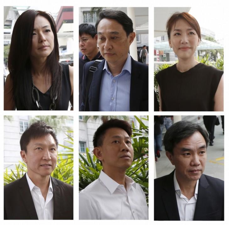 pastor Kong Hee y los 5 involucrados