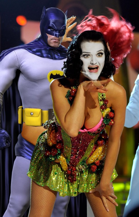 Katy Perry joker y batman