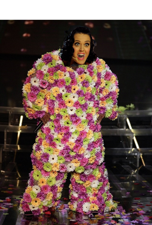 katy perry photoshop flores