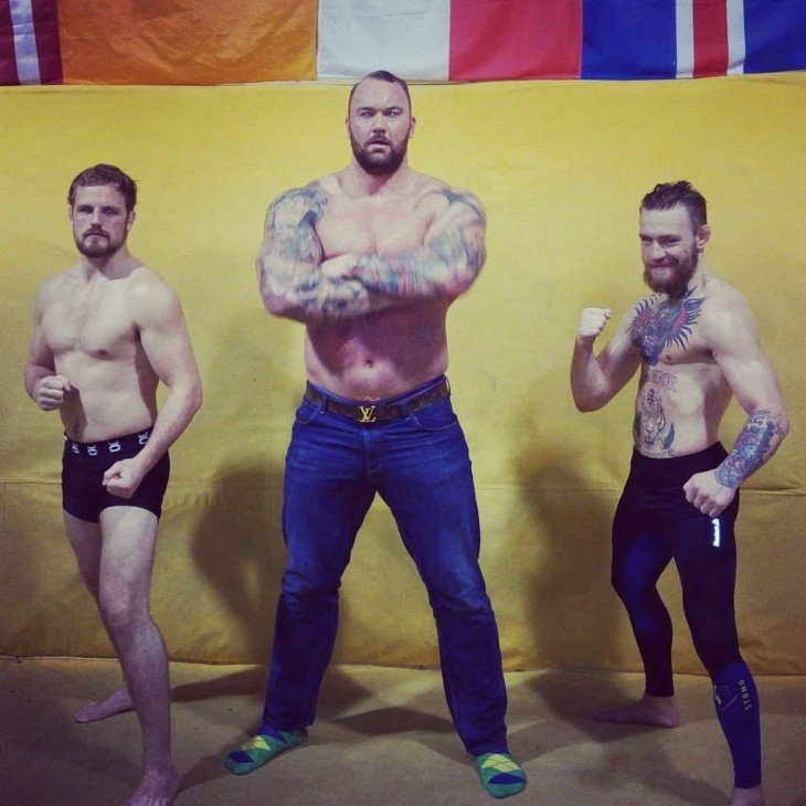 Thor Bjornsson VS conor mcgregor