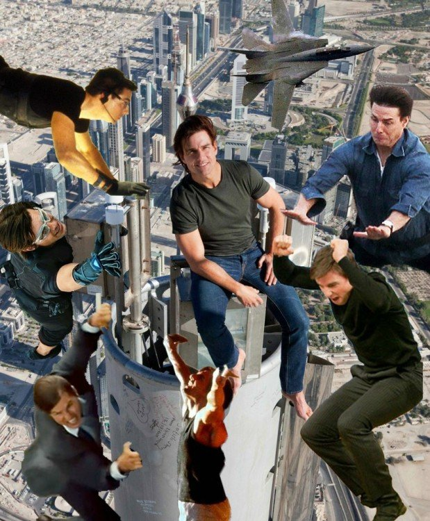 photoshop muchos Tom Cruise
