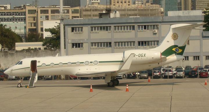 Jet privado del millonario Batista