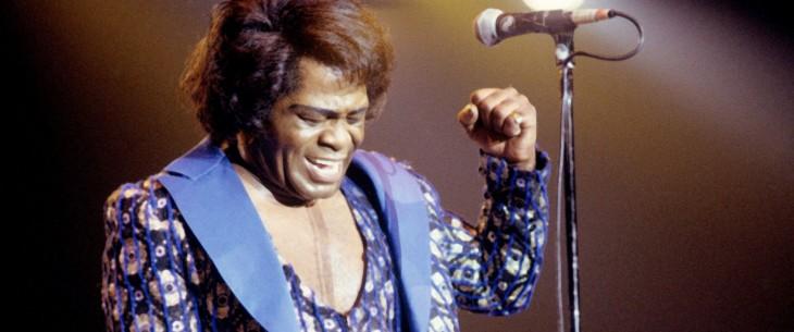 James Brown en el escenario