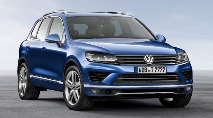 Camioneta azul de Volkswagen