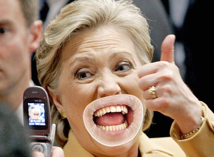 Montaje en Hillary Clinton