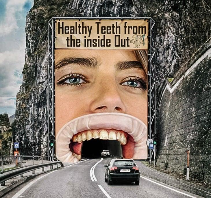 Túnel publicitario