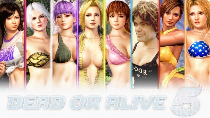 Chicas en Dead or Alive 5
