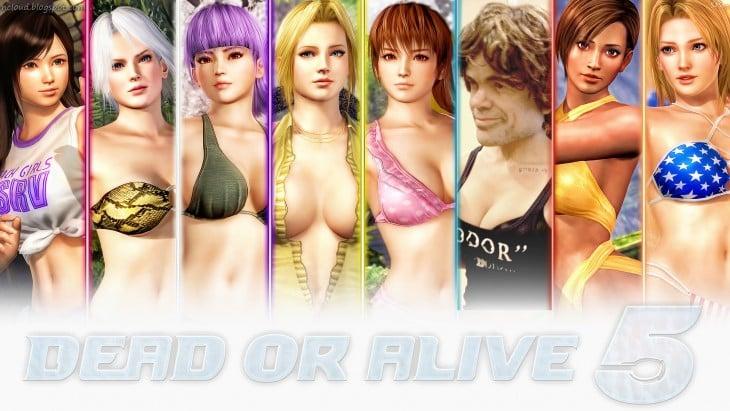 Chicas en Dead or Alive 5