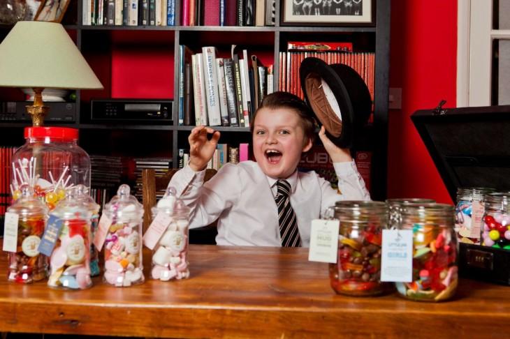 Henry, niño empresario exitoso