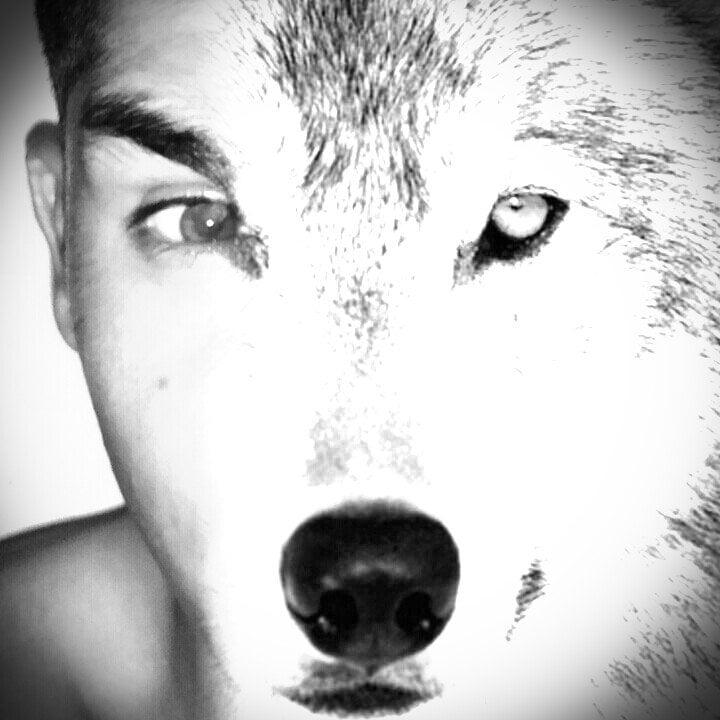 Hombre mitad lobo
