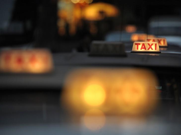 luces de taxi