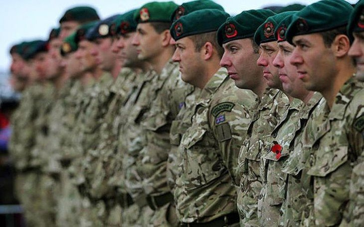 Royal Marines de Inglaterra
