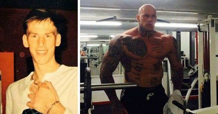 Martyn Ford antes y después