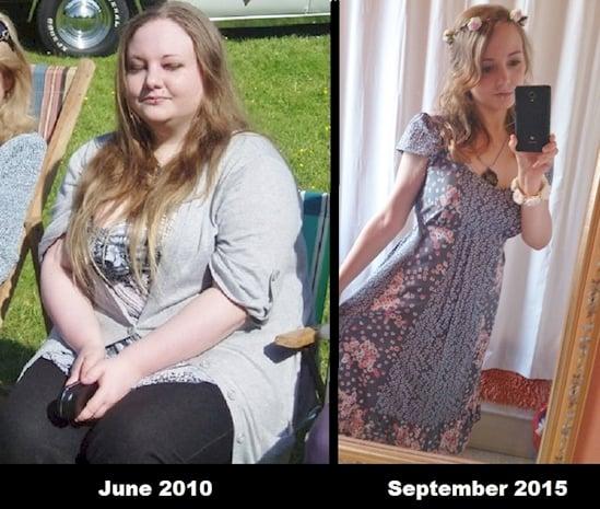 Mujer gorda y mujer esbelta