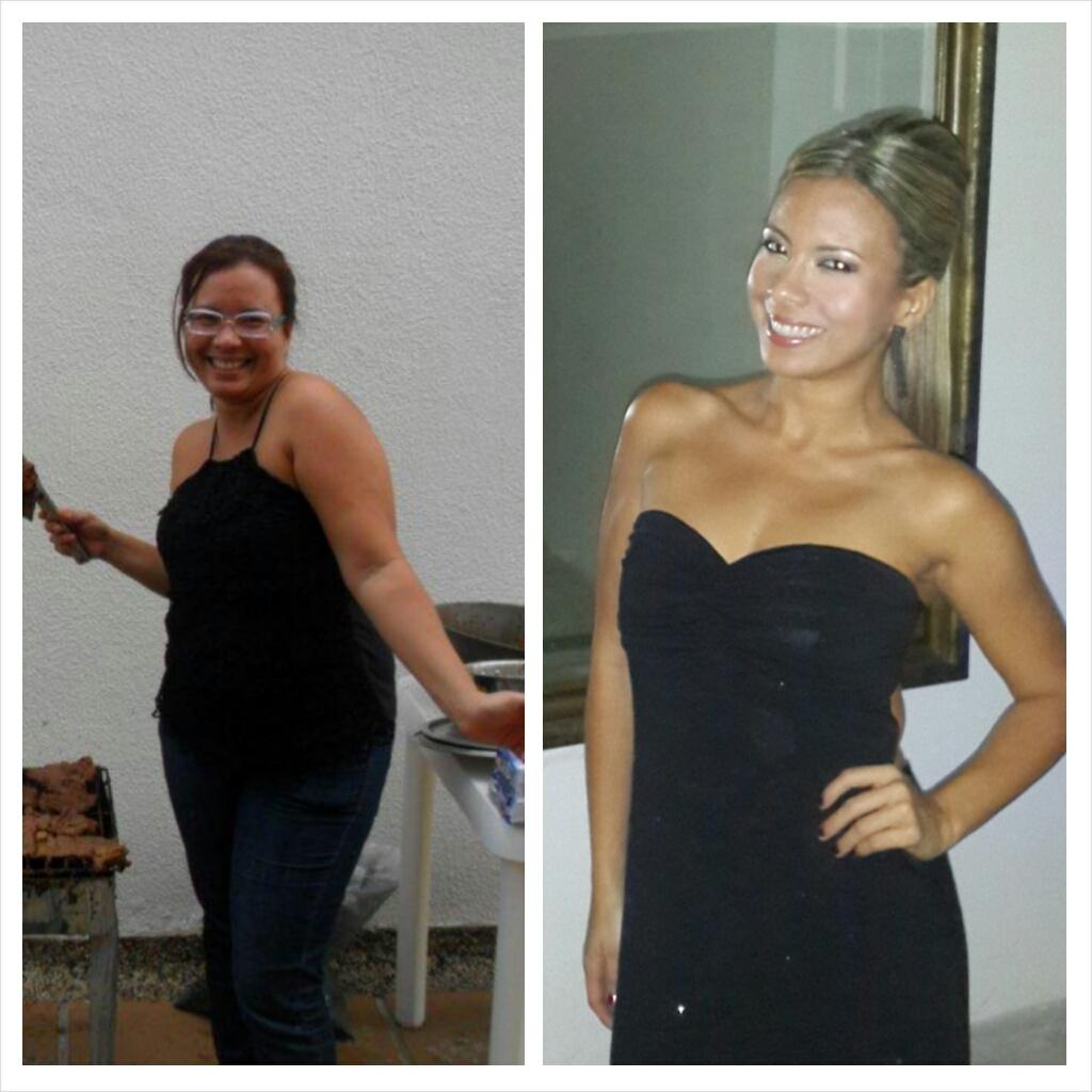 Cambios increíbles en personas que bajan de peso