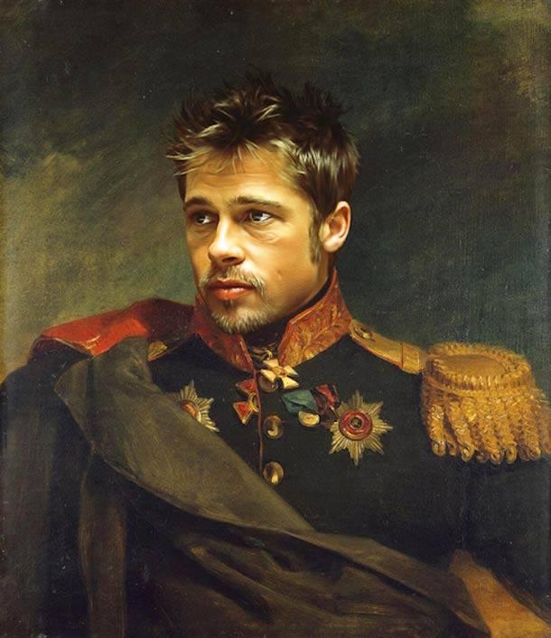 Brad Pitt general militar steve payne