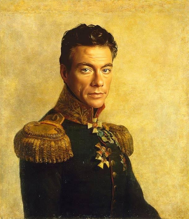 Van Damme vestido de general militar steve payne