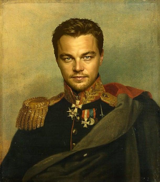 Leonardo DiCaprio general militar steve payne